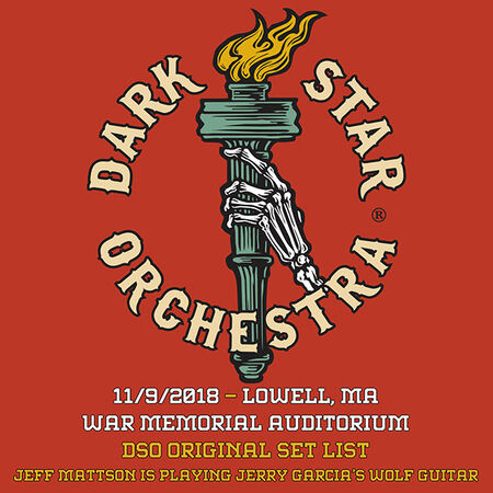 11/09/18 War Memorial Auditorium, Lowell, MA