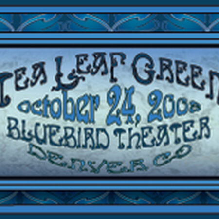 10/24/08 Bluebird Theater, Denver, CO