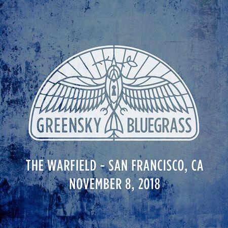 11/08/18 The Warfield, San Francisco, CA