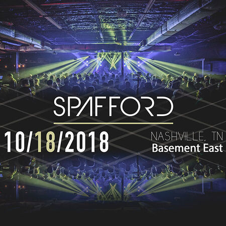 10/18/18 The Basement East, Nashville, TN