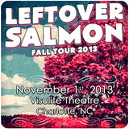 11/01/13 Visulite Theatre, Charlotte, NC