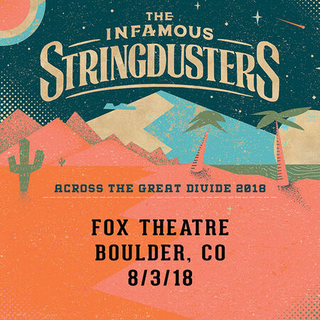08/03/18 The Fox Theatre, Boulder, CO