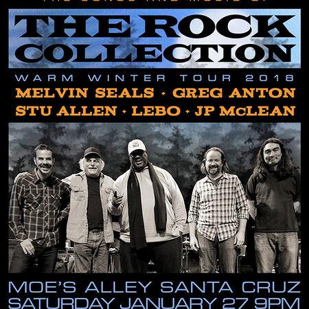 01/27/18 Moe's Alley, Santa Cruz, CA