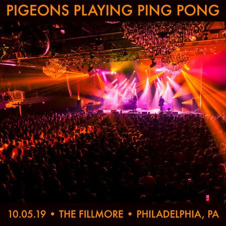 10/05/19 The Fillmore, Philadelphia, PA