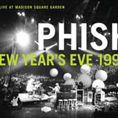 12/31/95 Madison Square Garden, New York, NY