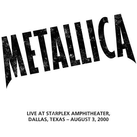 08/03/00 Starplex Amphitheater, Dallas, TX