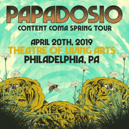 04/20/19 Theater Of Living Arts, Philadelphia, PA