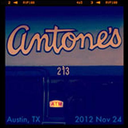11/24/12 Antone's, Austin, TX