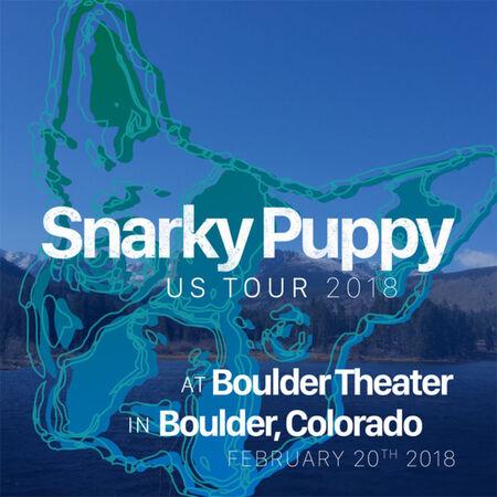 02/20/18 Boulder Theater, Boulder, CO