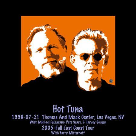07/21/98 Thomas & Mack Center, Las Vegas, NV