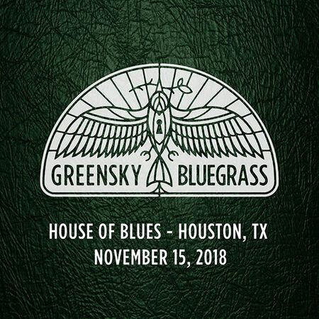 11/15/18 House of Blues, Houston, TX