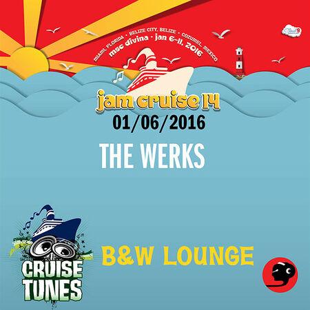 01/06/16 B&W Lounge, Jam Cruise, US