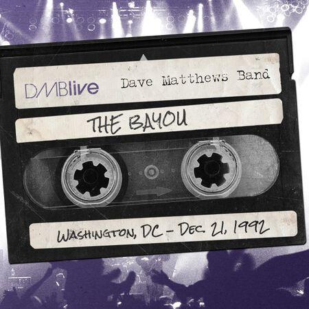 12/21/92 The Bayou, Washington, DC