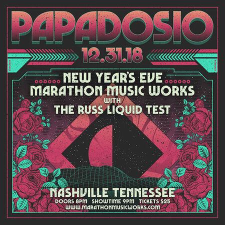 12/31/18 Marathon Music Works, Nashville, TN