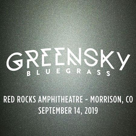 09/14/19 Red Rocks Amphitheatre, Morrison, CO