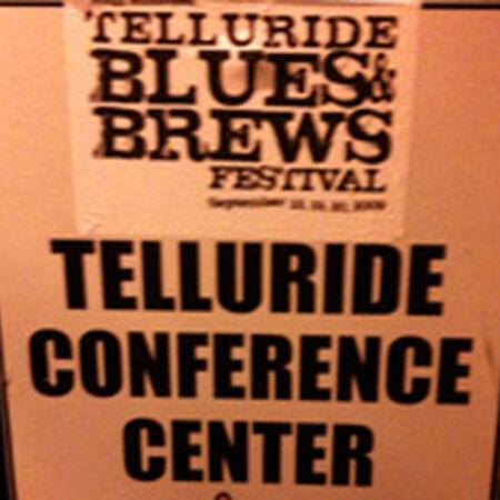 09/19/09 Telluride Blues & Brews Festival, Telluride, CO