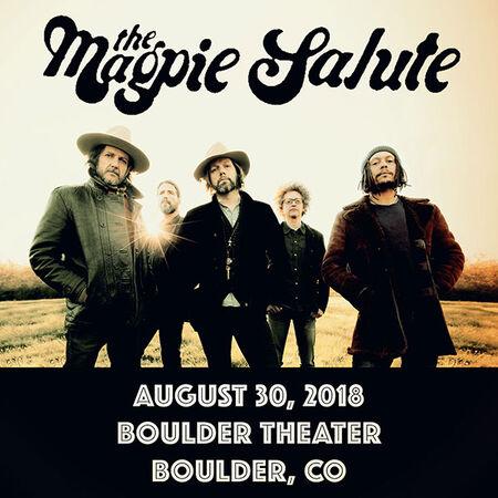 08/30/18 Boulder Theater, Boulder, CO