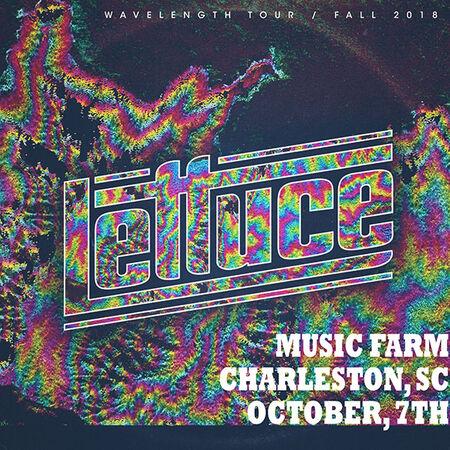 10/07/18 Music Farm, Charleston, SC
