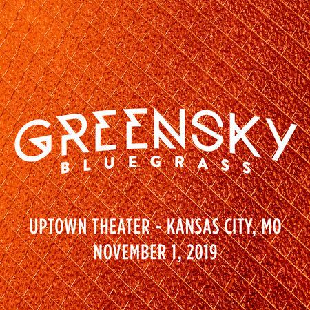 11/01/19 Uptown Theater, Kansas City, MO