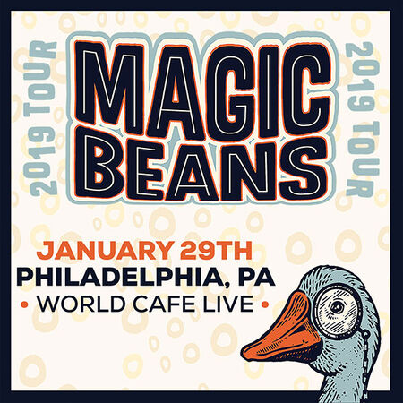 01/29/19 World Cafe Live, Philadelphia, PA