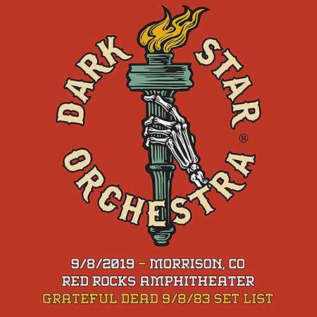 09/08/19 Red Rocks Amphitheatre, Morrison, CO