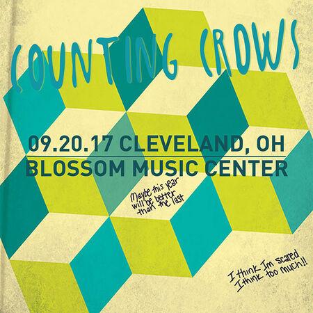09/20/17 Blossom Music Center, Cleveland, OH