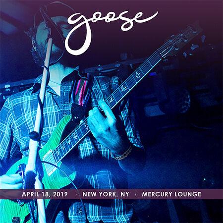 04/18/19 Mercury Lounge, New York, NY
