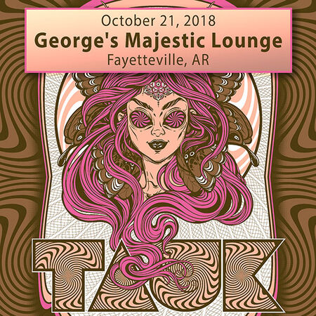 10/21/18 George's Majestic Lounge, Fayetteville, AR