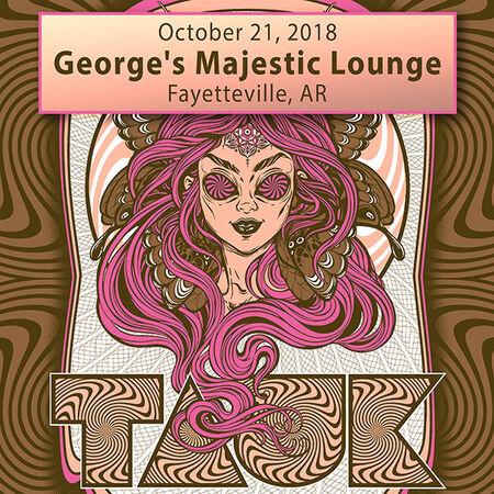 10/21/18 George's Majestic Lounge, Fayetteville, AR