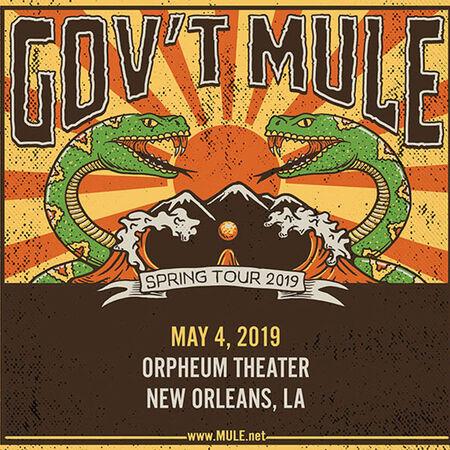 05/04/19 Orpheum Theater, New Orleans, LA