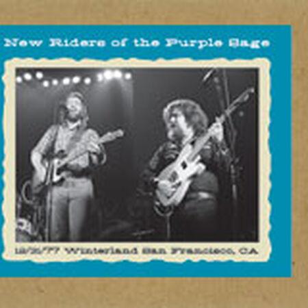 12/31/77 Winterland, San Francisco, CA