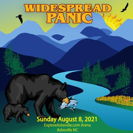 08/08/21 Exploreasheville.com Arena, Asheville, NC
