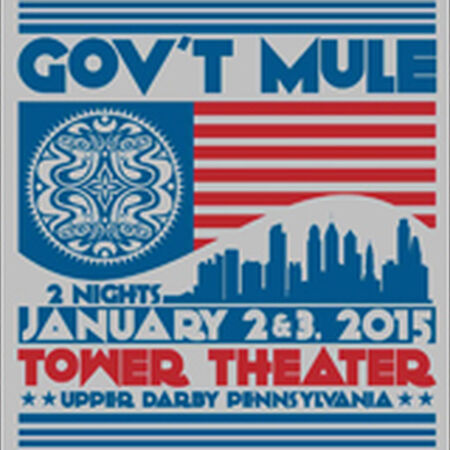 01/02/15 Tower Theater, Upper Darby, PA