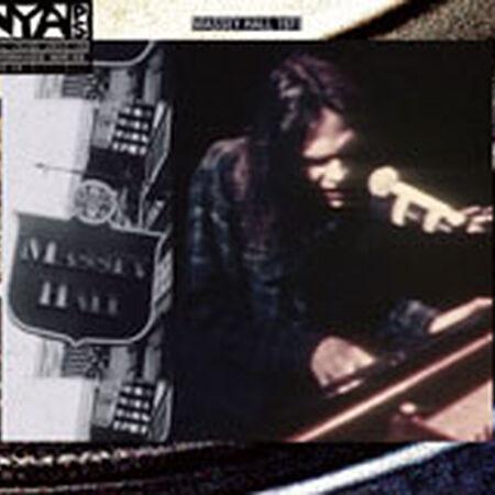 01/19/71 Live At Massey Hall 1971: Massey Hall, Toronto, ON