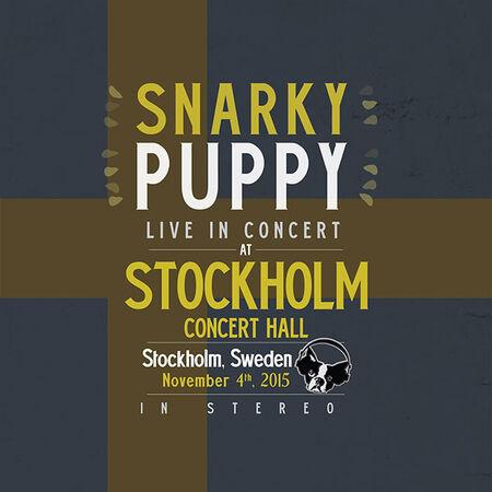 11/04/15 Stockholm Konserthuset, Stockholm, SE