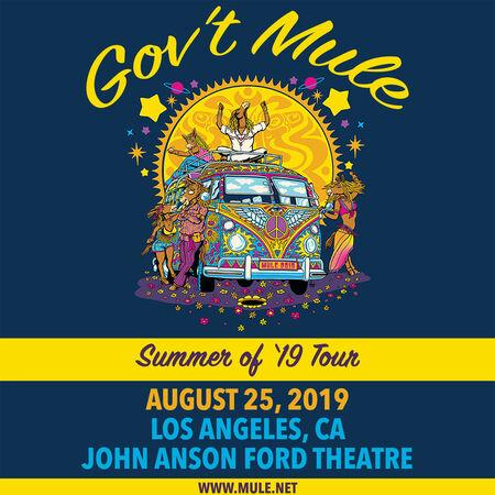 08/25/19 John Anson Ford Theatre, Los Angeles, CA