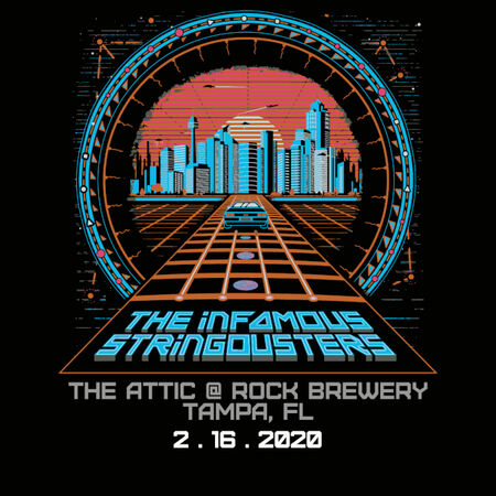 02/16/20 The Attic at Rock Brewery, Tampa, FL