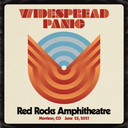 Widespread Panic Red Rocks 2021 Audio