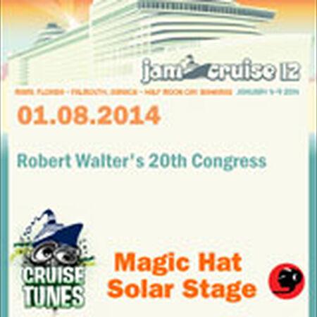01/08/14 Magic Hat Solar Stage, Jam Cruise, US