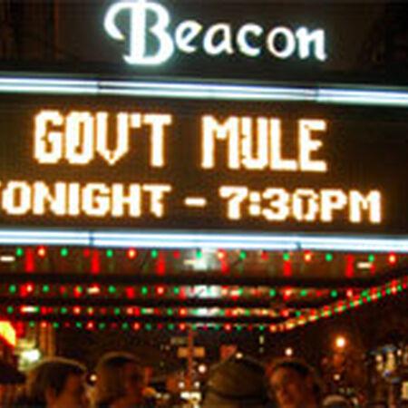12/28/07 Beacon Theatre, New York, NY