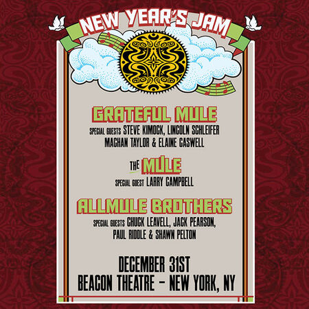 12/31/15 The Beacon Theatre, New York, NY