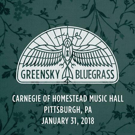 01/31/18 Carnegie of Homestead Music Hall, Pittsburgh, PA