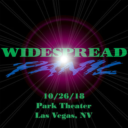 10/26/18 Park Theater, Las Vegas, NV