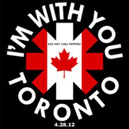 04/28/12 Air Canada Centre, Toronto, ON