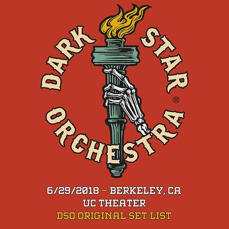 06/29/18 UC Theatre, Berkeley, CA