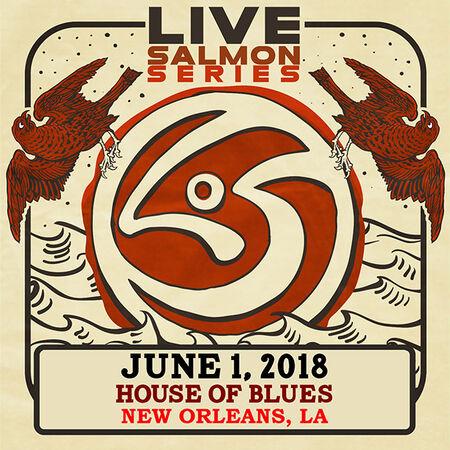 06/01/18 House Of Blues, New Orleans, LA