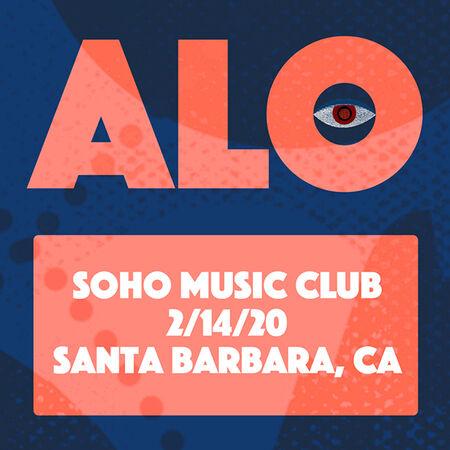 02/14/20 Soho Music Club, Santa Barbara, CA