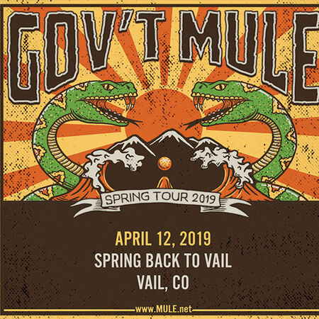 04/12/19 Spring Back to Vail, Vail, CO