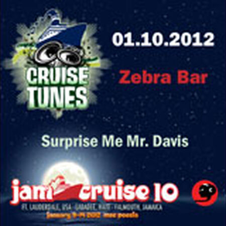 01/10/12 Zebra Bar, Jam Cruise, US