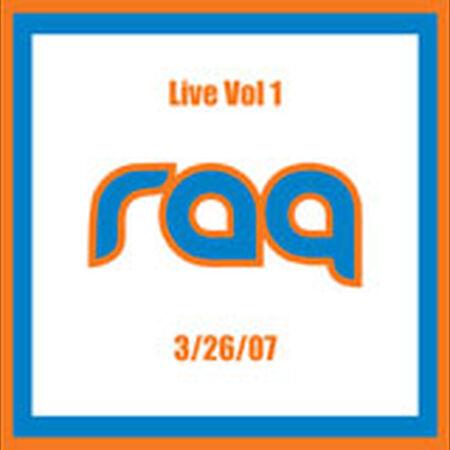 03/26/07 Live Vol. 1, Pittsburgh, PA
